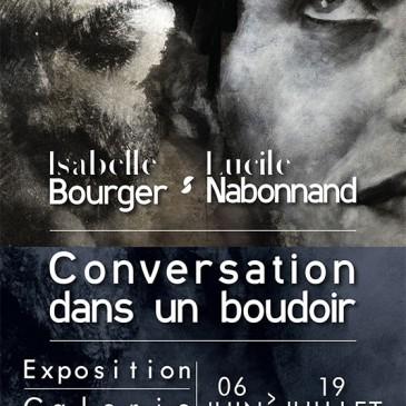 «Conversation dans un boudoir» – Galerie de Mme de Graffigny à Villers-lès-Nancy, du 6 juin au 19 juillet.