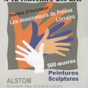 A la rencontre des arts – Alstom, du 22 mai au 7 juin