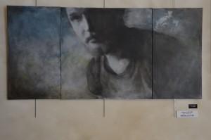 médaille d'or catégorie peinture, Isabelle Bourger
