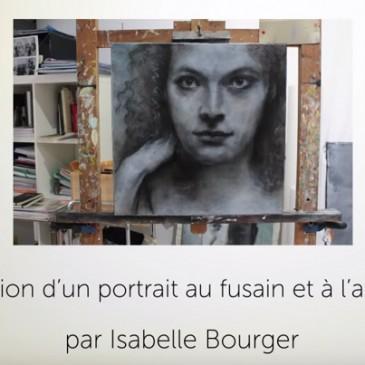 Pas à pas d'une création d'un portrait à l'acrylique